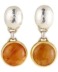 Gurhan - One-of-a-kind Galapagos Drop Earrings Quartz - Lyst