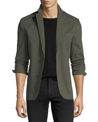 1 Like No Other - Garment-washed Two-button Blazer - Lyst