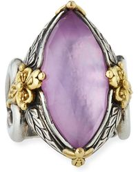 Konstantino - Marquise Doublet Ring - Lyst