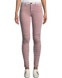 Brockenbow - Emma Distressed Skinny Jeans - Lyst