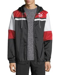 PUMA - Men's Archive Logo Wind-resistant Jacket - Lyst