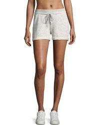 Marc New York - Drawstring-waist Cuffed Shorts - Lyst