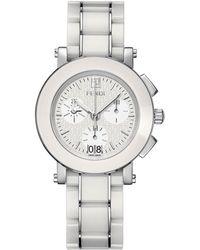 Fendi - 6610g Ceramic Chronograph Watch - Lyst