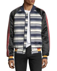 ELEVEN PARIS - Jrian Stars And Stripes Bomber Jacket - Lyst