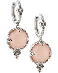 Jude Frances | Round Quad Drop Earrings | Lyst