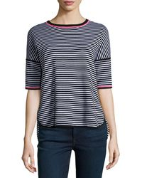 Belford - Reversible Striped Pullover Top - Lyst