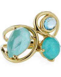 Ippolita - 18k Rock Candy Squiggle Ring In Waterfall - Lyst