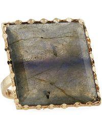Lana Jewelry - 14k Mystiq Gloss Labradorite Ring - Lyst