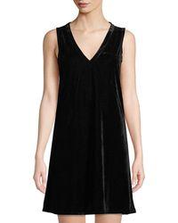 Lilla P - Sleeveless Velvet A-line Dress - Lyst
