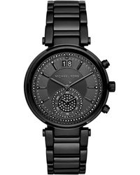 MICHAEL Michael Kors - 39mm Sawyer Glitz Chronograph Watch - Lyst