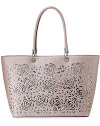 Christian Siriano - Michelle Laser-cut Tote Bag - Lyst