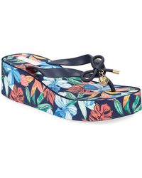 Tommy Bahama - Island Wedge Thong Sandals - Lyst
