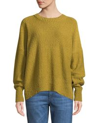 Eskandar - Slim-sleeve Round-neck Sweater - Lyst