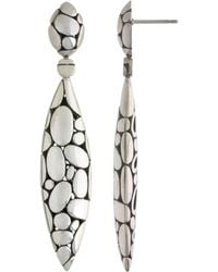 John Hardy - Kali Marquise-drop Earrings - Lyst