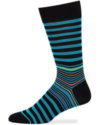 Bugatchi - Men's Striped Socks - Lyst