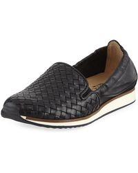 Sesto Meucci - Carmen Woven Flat Sneaker - Lyst
