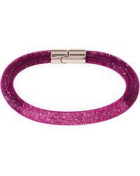 Swarovski - Stardust Crystal Mesh Bracelet - Lyst