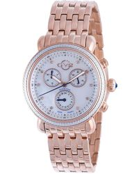 Gv2 - 37mm Marsala Chronograph Bracelet Watch - Lyst