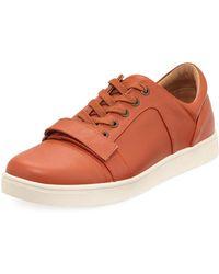 Michael Bastian - Ossie Leather Platform Sneaker - Lyst