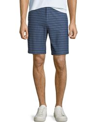 Original Penguin - Men's Striped Straight-leg Shorts - Lyst