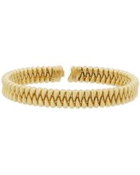 Chimento - 18k Gold Zipper Bangle - Lyst