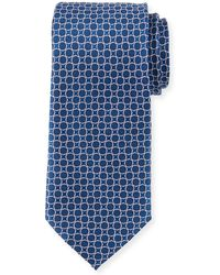 Neiman Marcus - Men's Circle Pattern Silk Tie - Lyst