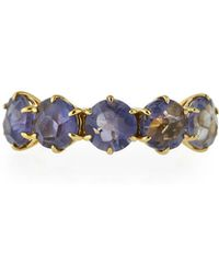 Ippolita - Rock Candy® 18k Iolite Five-stone Ring - Lyst