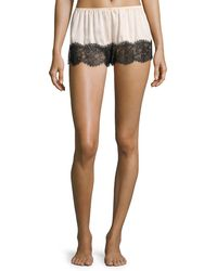Underella By Ella Moss - Leighton Lace-trim Lounge Shorts - Lyst