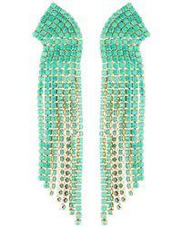 Lydell NYC - Stone Multi-strand Dangle Earrings - Lyst