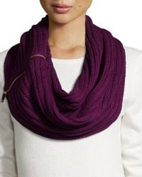 Ivanka Trump - Side-zip Neck Warmer - Lyst