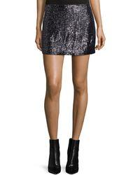 MLV - Shannon Embellished Mini Skirt - Lyst