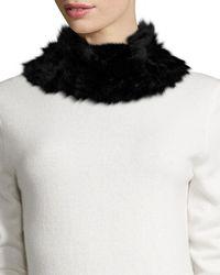 Neiman Marcus - Rbbt Fur Cwl Mnk Bwn - Lyst