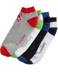 Psycho Bunny Four-pack Low-cut Sock Set