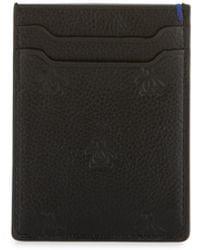 Original Penguin - Leather Logo-embossed Card Case - Lyst