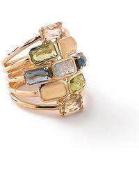 Ippolita | 18k Rock Candy® Mosaic Cascade Ring | Lyst