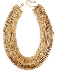 R.j. Graziano - Layered Square-link Necklace - Lyst