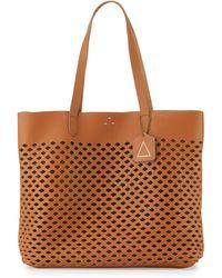Kelsi Dagger Brooklyn - Commuter Laser-cut Leather Tote Bag - Lyst