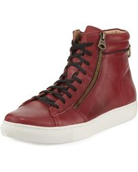 Marc New York - Remsen Leather High-top Sneaker - Lyst