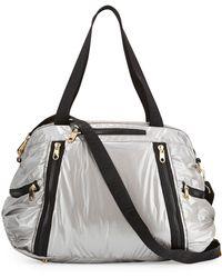 Cynthia Rowley - Alex L Duffle Bag With Leather Trim - Lyst