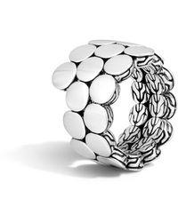 John Hardy - Dot Double-coil Ring - Lyst