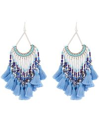 Nakamol - Multi-tassel Dangle Earrings - Lyst