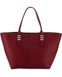 Neiman Marcus - Haven Smooth Faux Tote Bag - Lyst