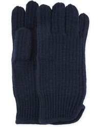 "Neiman Marcus - Men's Cashmere 11"" Gloves - Lyst"