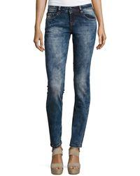 Grace In La - Faded Skinny Jeans - Lyst