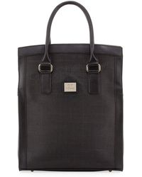 Gianfranco Ferré - Woven-center Shopper Tote Bag - Lyst