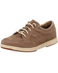 Tommy Bahama - Island Relaxology Suede Sneaker - Lyst