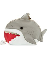 Betsey Johnson - Shark Cosmetic Bag - Lyst