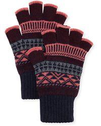 Brora - Fingerless Gloves - Lyst