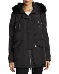 Annabelle New York - Rangel Fur-trim Puffer Jacket - Lyst