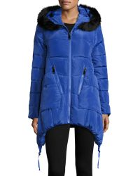 Annabelle New York - Juno Quilted Asymmetric Bomber Jacket - Lyst